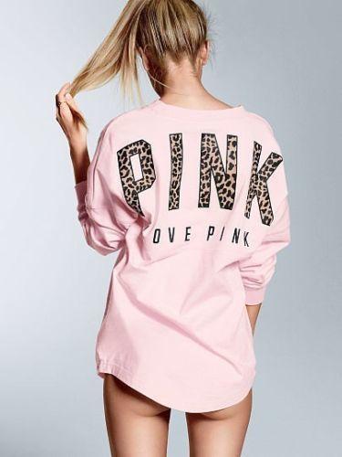 ピンク 可愛いTシャツ レディース愛用 セール ヴィクトリアシークレット