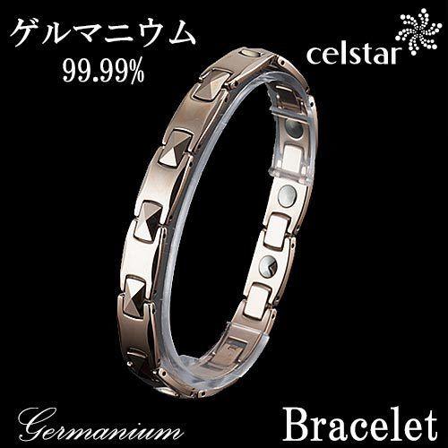 [CAISSE] M 10P ゲルマニウム ブレスレット メンズ