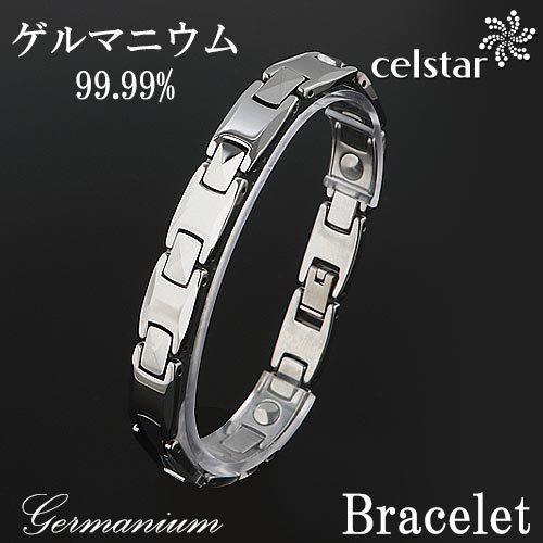 [CLAVICHORD] M 10P ゲルマニウム ブレスレット メンズ