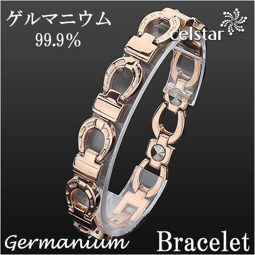 [COMICO] Rose Gold 8P ゲルマニウム ブレスレット