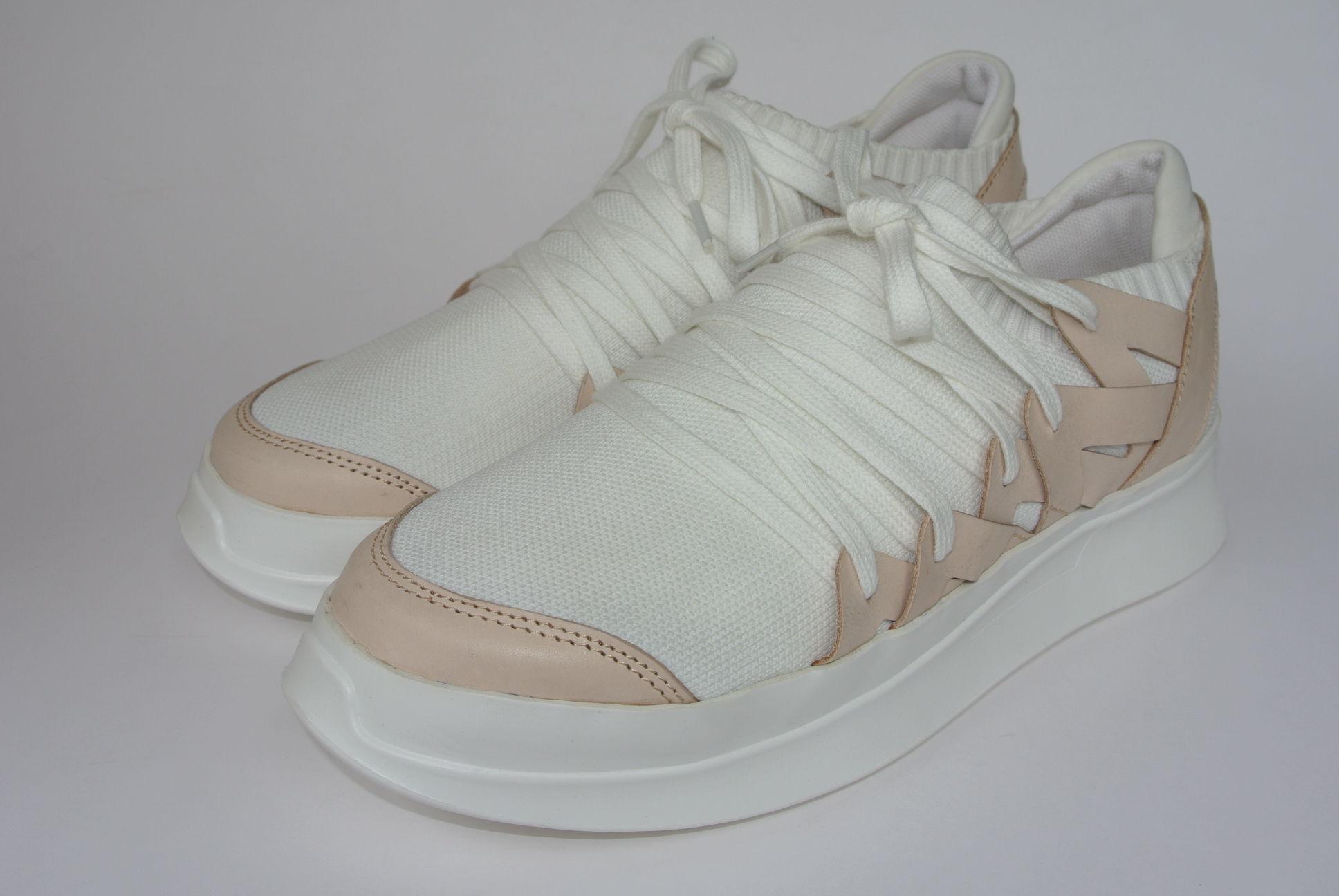 Platform Knitted WHITE