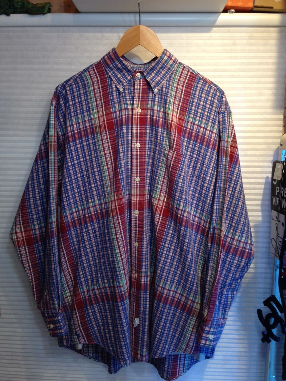 Polo Ralph Lauren/ポロラルフローレン THE BIG SHIRT 1990's(USED)