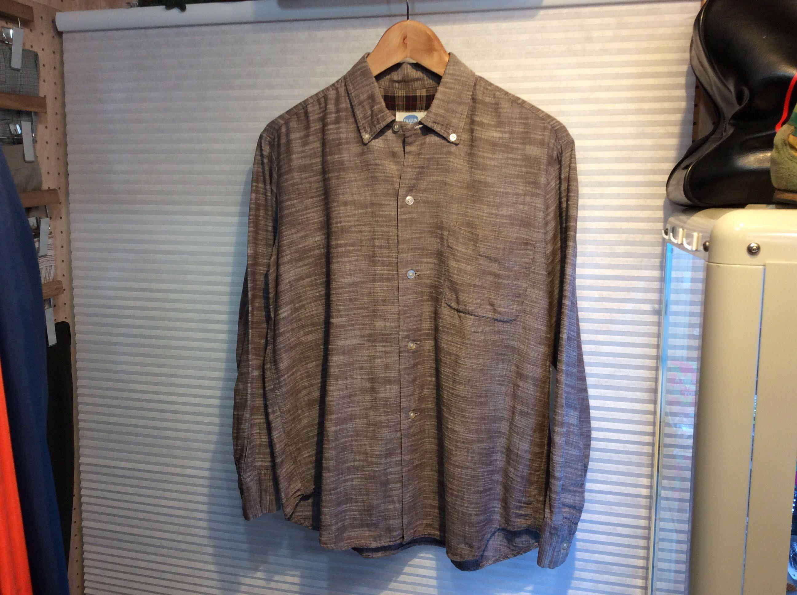 PILGRIM/ピルグリム  60'sビンテージ  ボタンダウンシャツ  (USED)