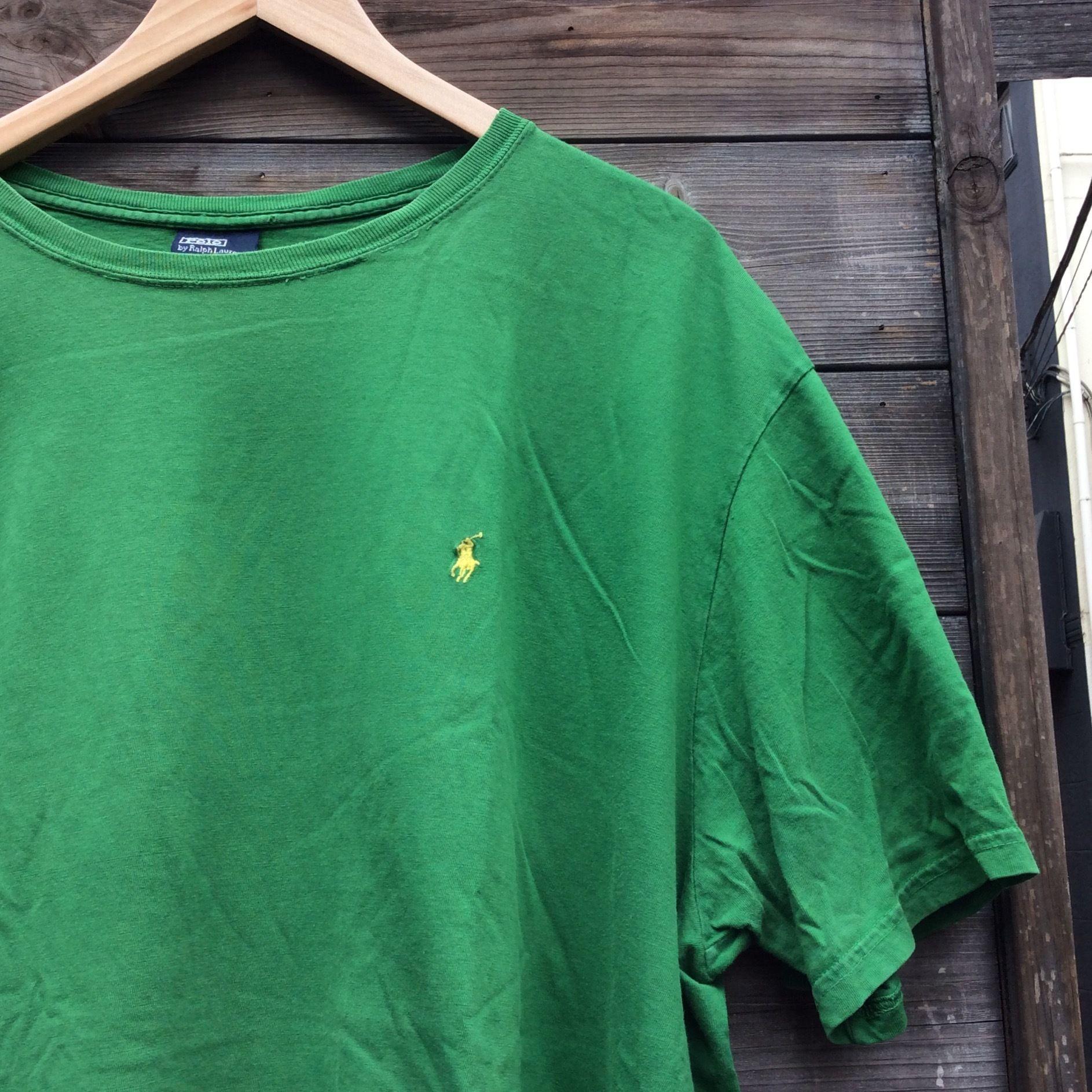 PoloRalphLauren/ラルフローレン ワンポイント刺繍 Tシャツ (USED)