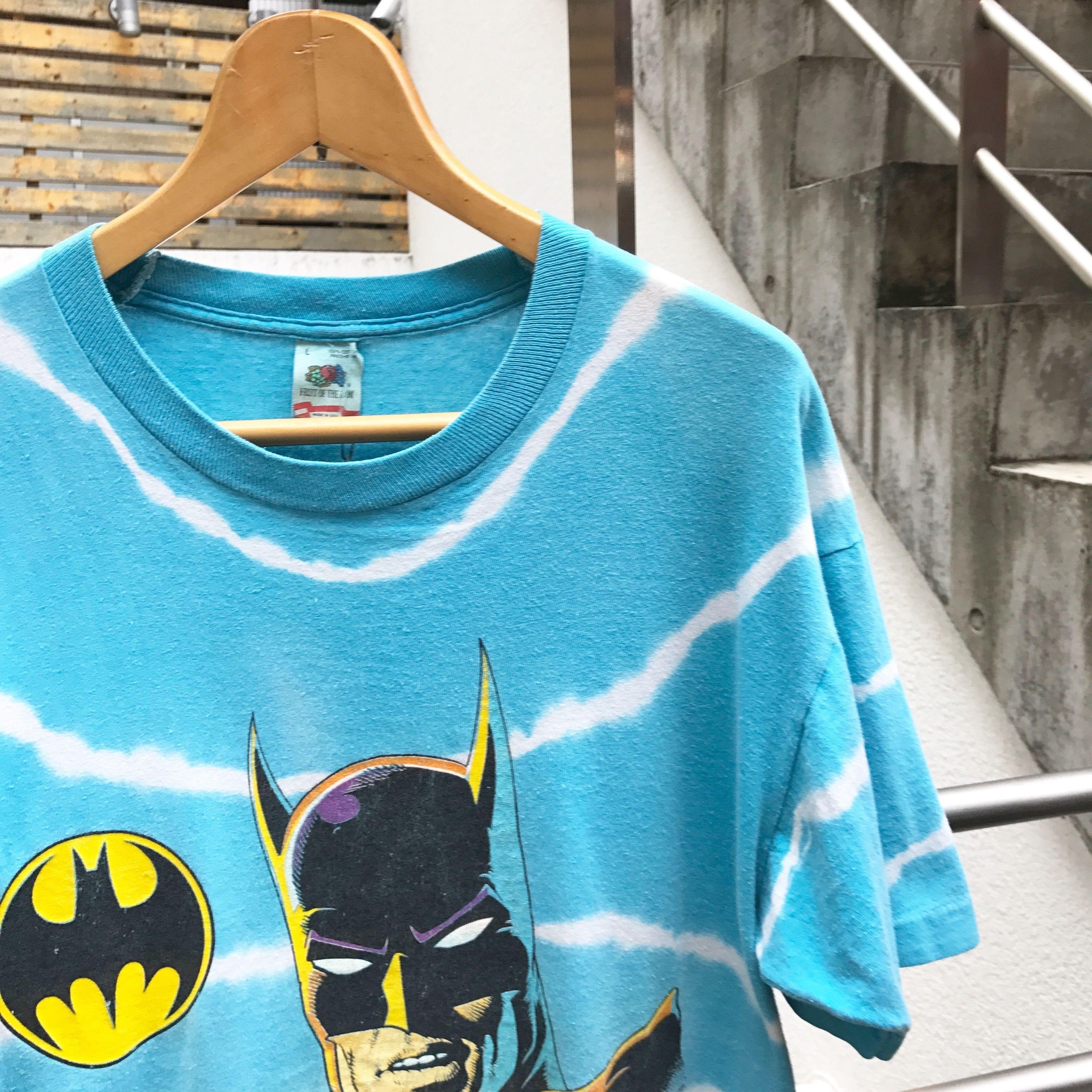 BATMAN/バットマン タイダイプリントTシャツ 1989年 Made In USA(USED)