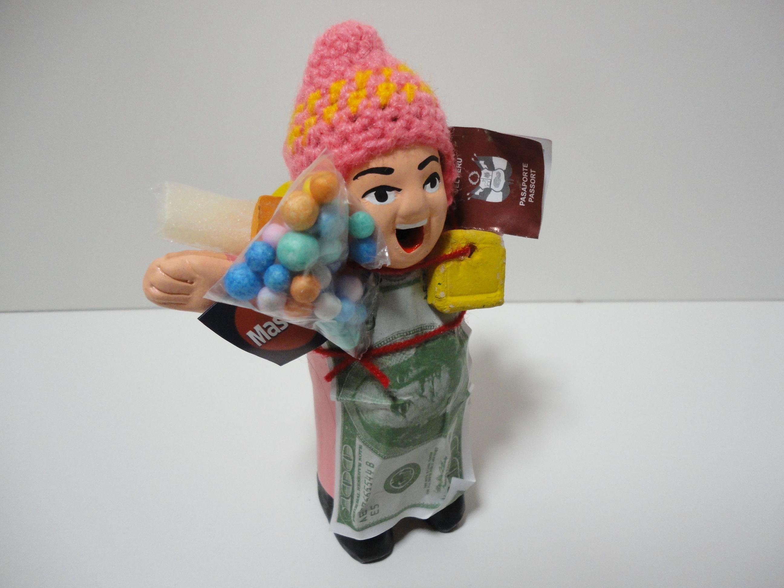 エケコ人形14㎝(日本向けエケコ人形)