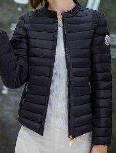 海外 インポート ブラック ショート丈 ダウン ジャケット コート アウター
