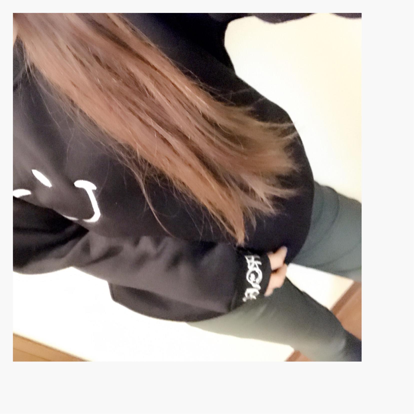 ニコちゃん☆スマイル☆トレーナー☆ブラックXL
