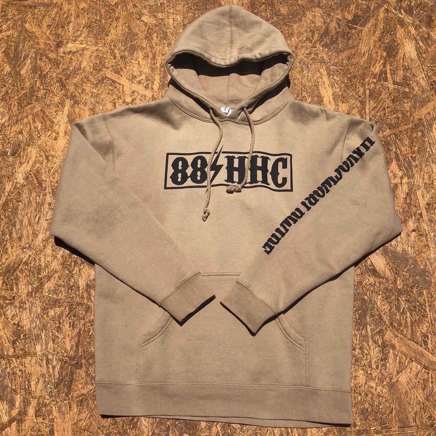 HAVOC HAWAII CLOTHING   パーカー ベージュ/ブラック