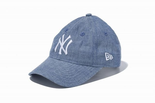 NEW ERAキッズYouth 9TWENTY シャンブレー ニューヨーク・ヤンキース