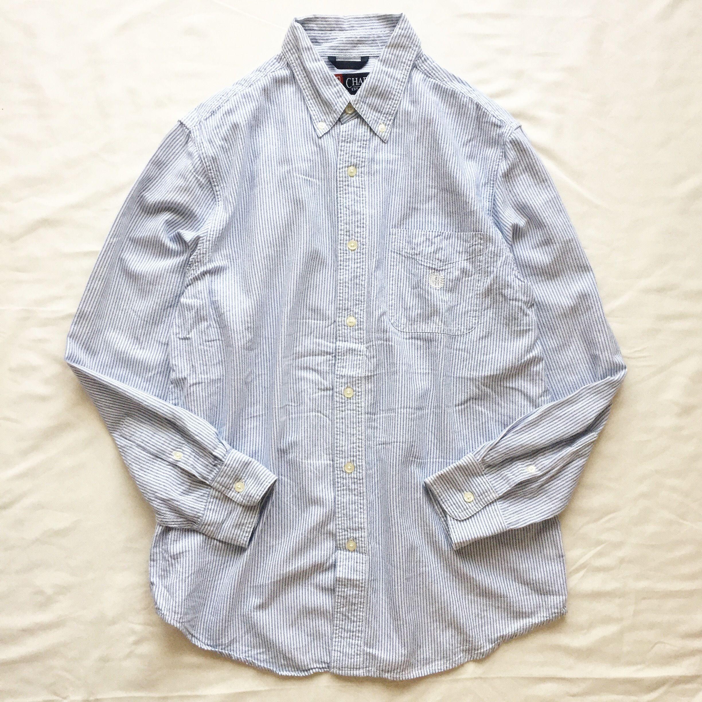 Ralph Lauren CHAPS  ラルフローレン チャップス 長袖 ストライプシャツ / 古着 ビンテージ