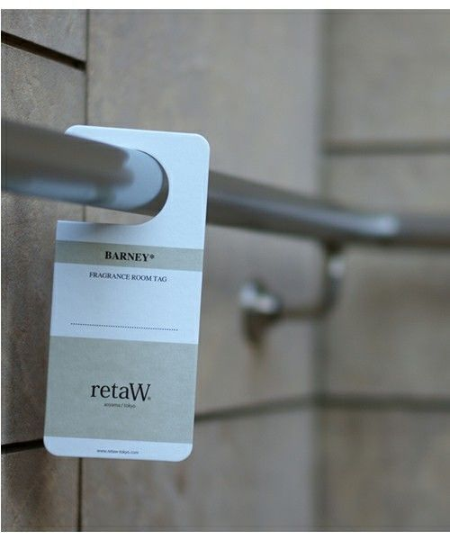 retaW Room Tag (BARNEY)