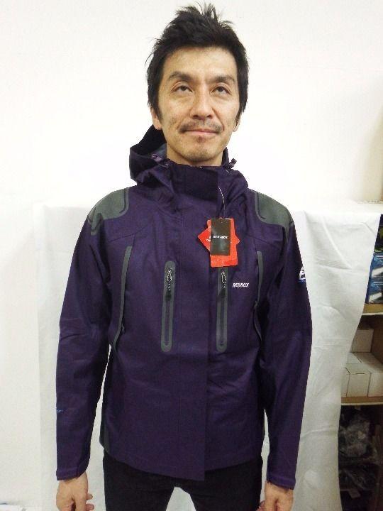 22 US REDBOXマウンテンジャケット2.5Lゴアテックス同素材濃紫M