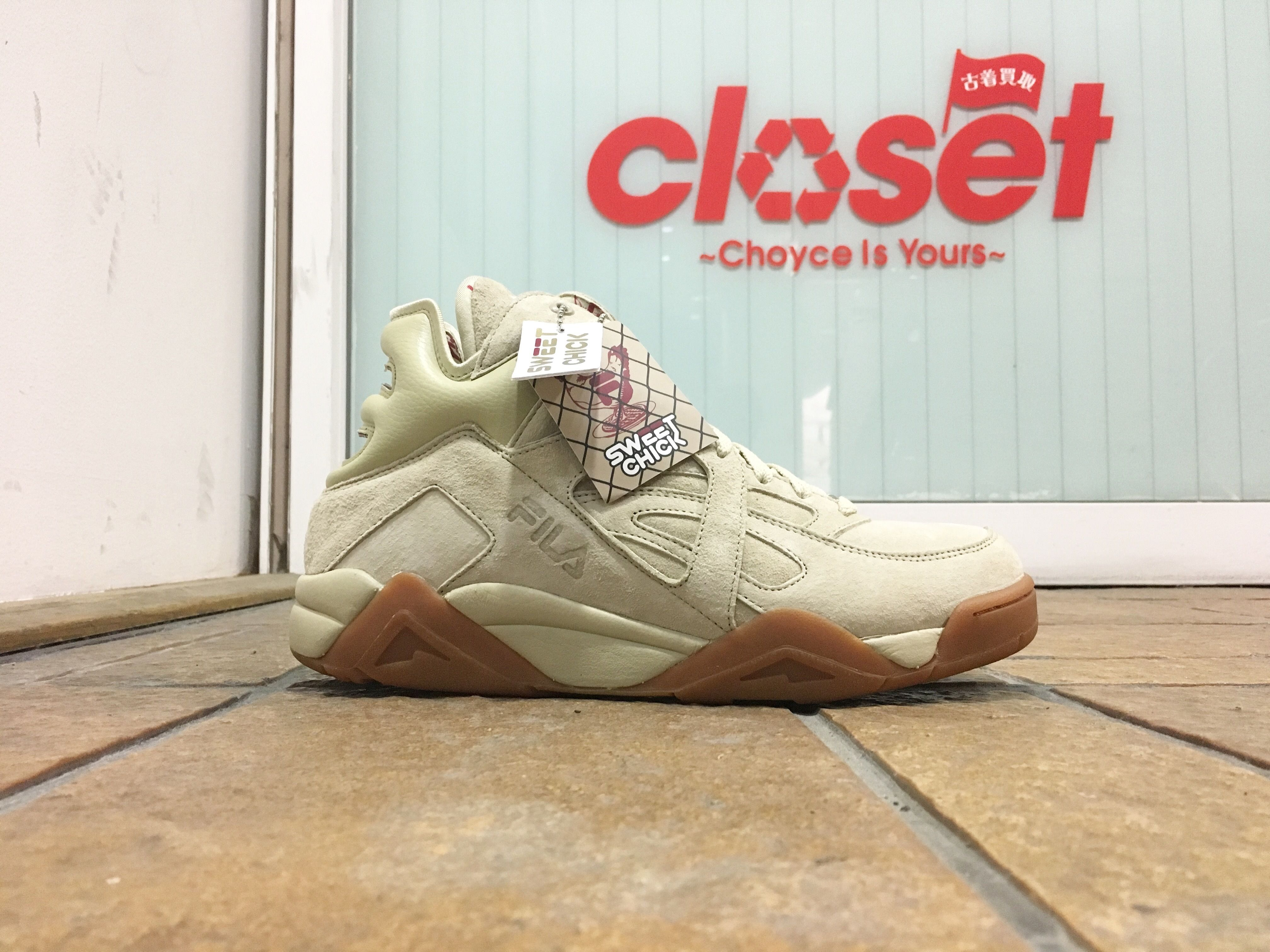 SWEET CHICK×FILA / THE CAGE size : US9.5 BEG