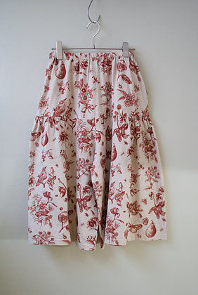 SamGha/organic cotton pants(burgundy・brown)