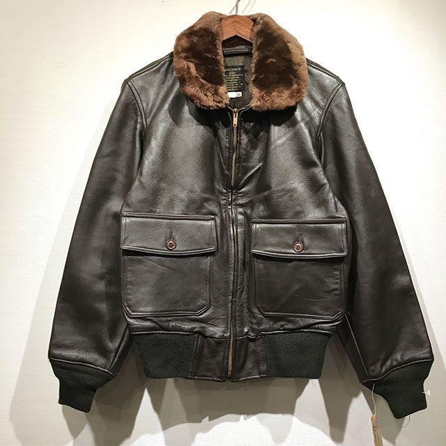 90s Spiewak / G-1 Leather Jacket / Dead Stock