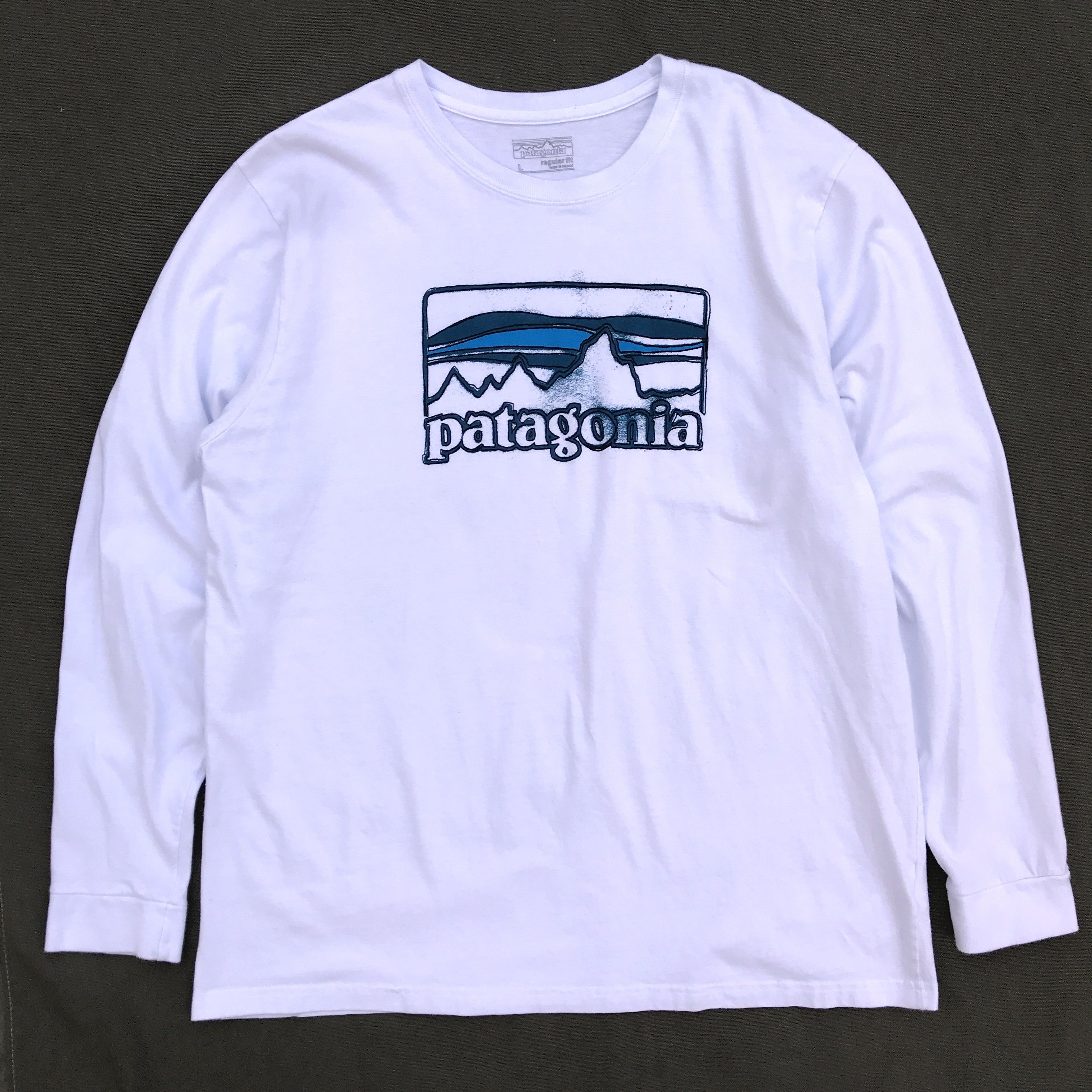 Used Patagonia / Used L/S Tee / White