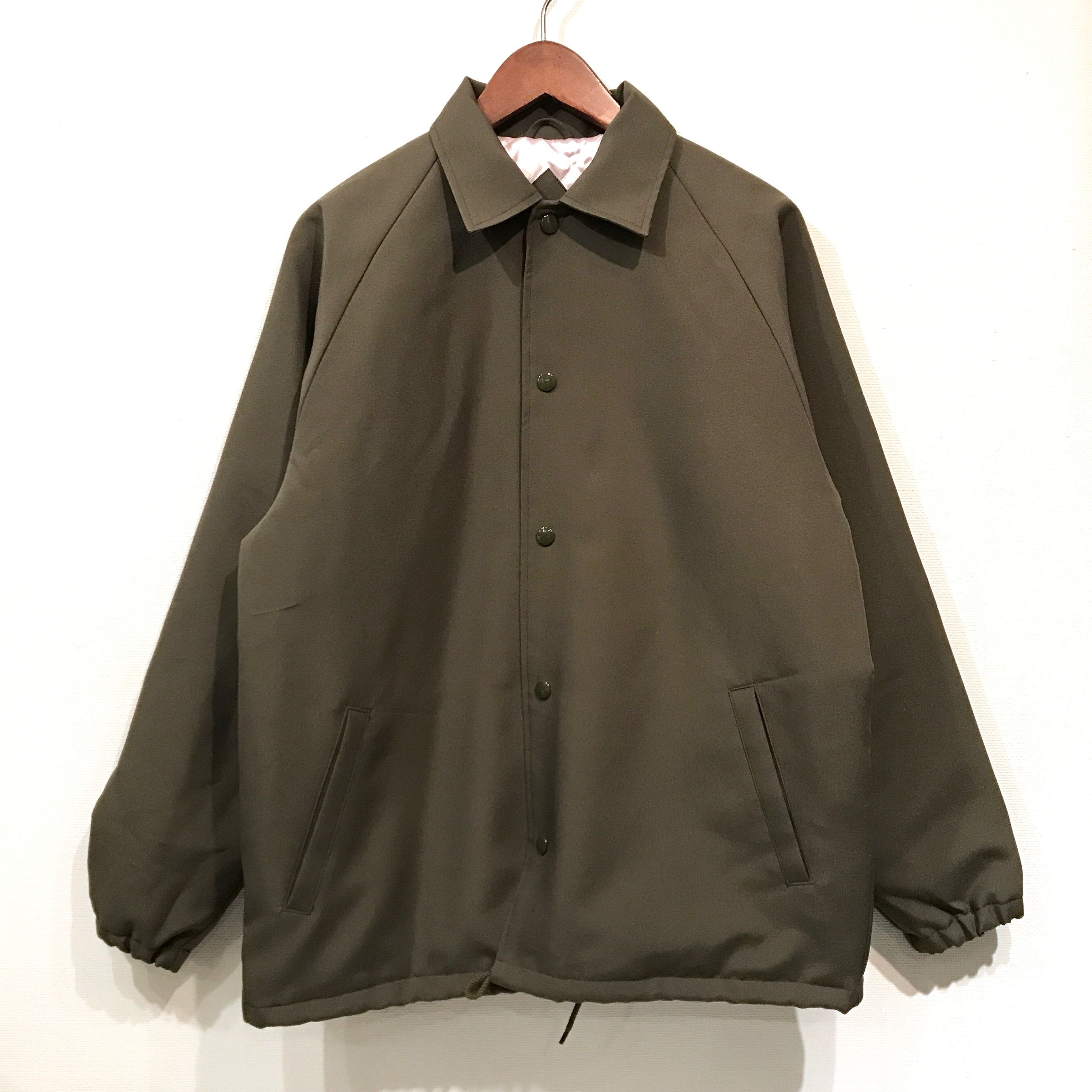 TACO RIDE /SOLID COACH JKT / Forest GREEN
