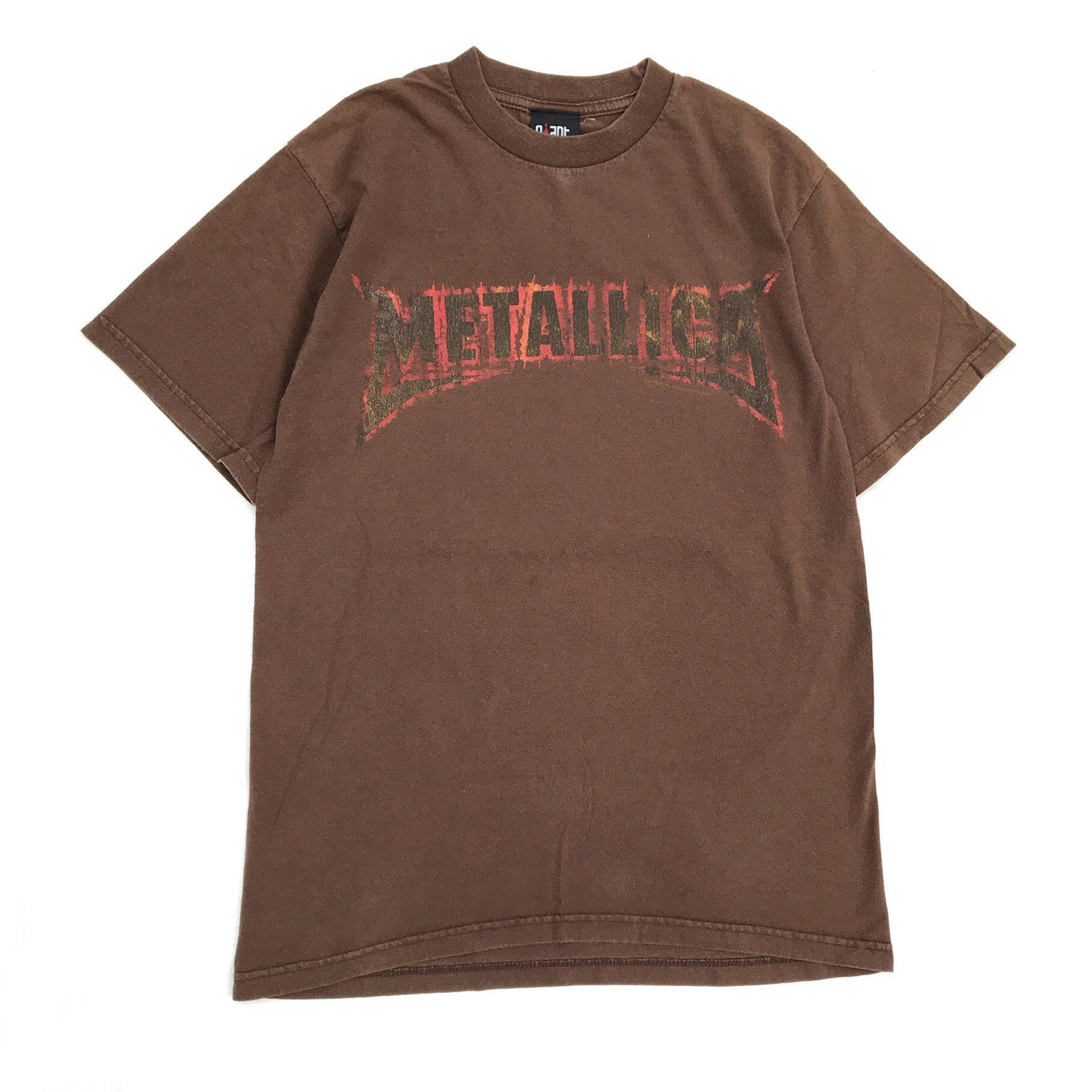 Vintage METALICA Tee / Brown