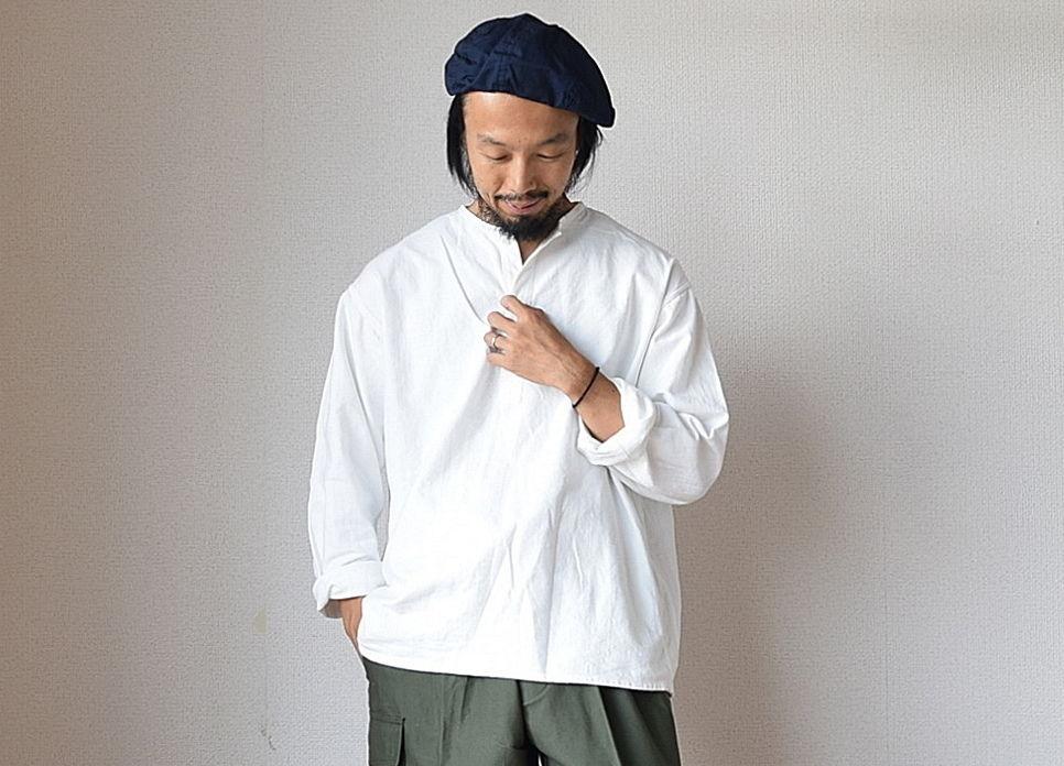 【残り僅か!】DEADSTOCK デッドストック ロシア軍スリーピングシャツ ホワイト