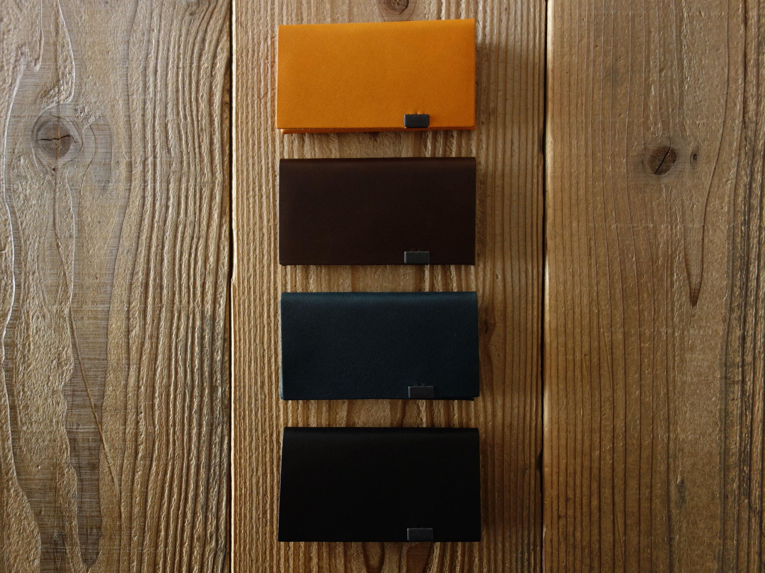 所作 SHOSA CARD CASE カードケース NVY/BLK/BRN/CML