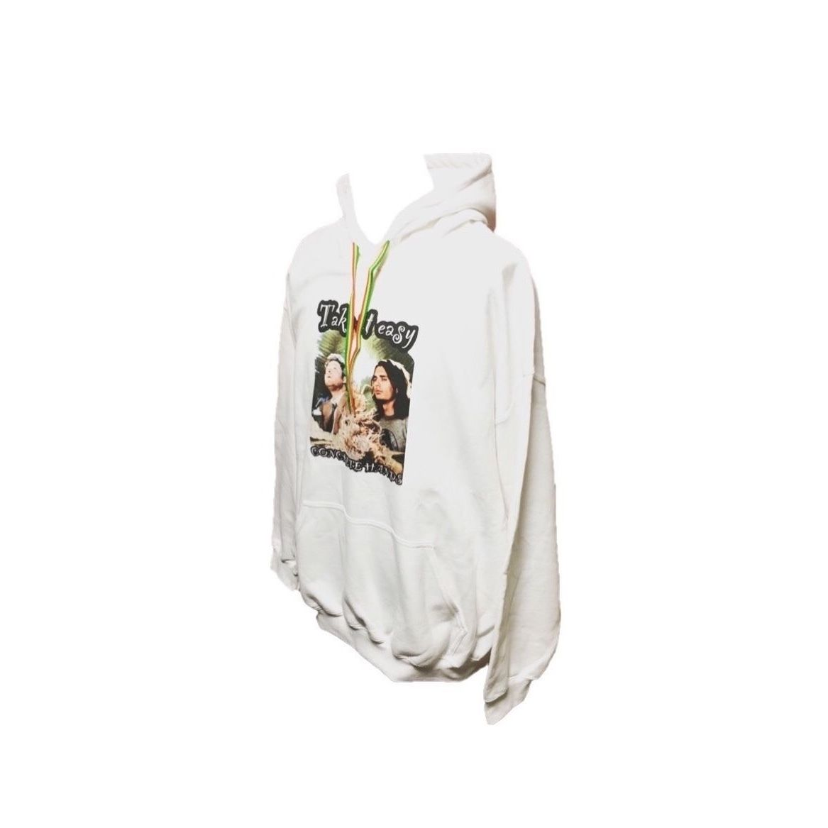 TAKE IT EASY PULLOVER(WHITE)
