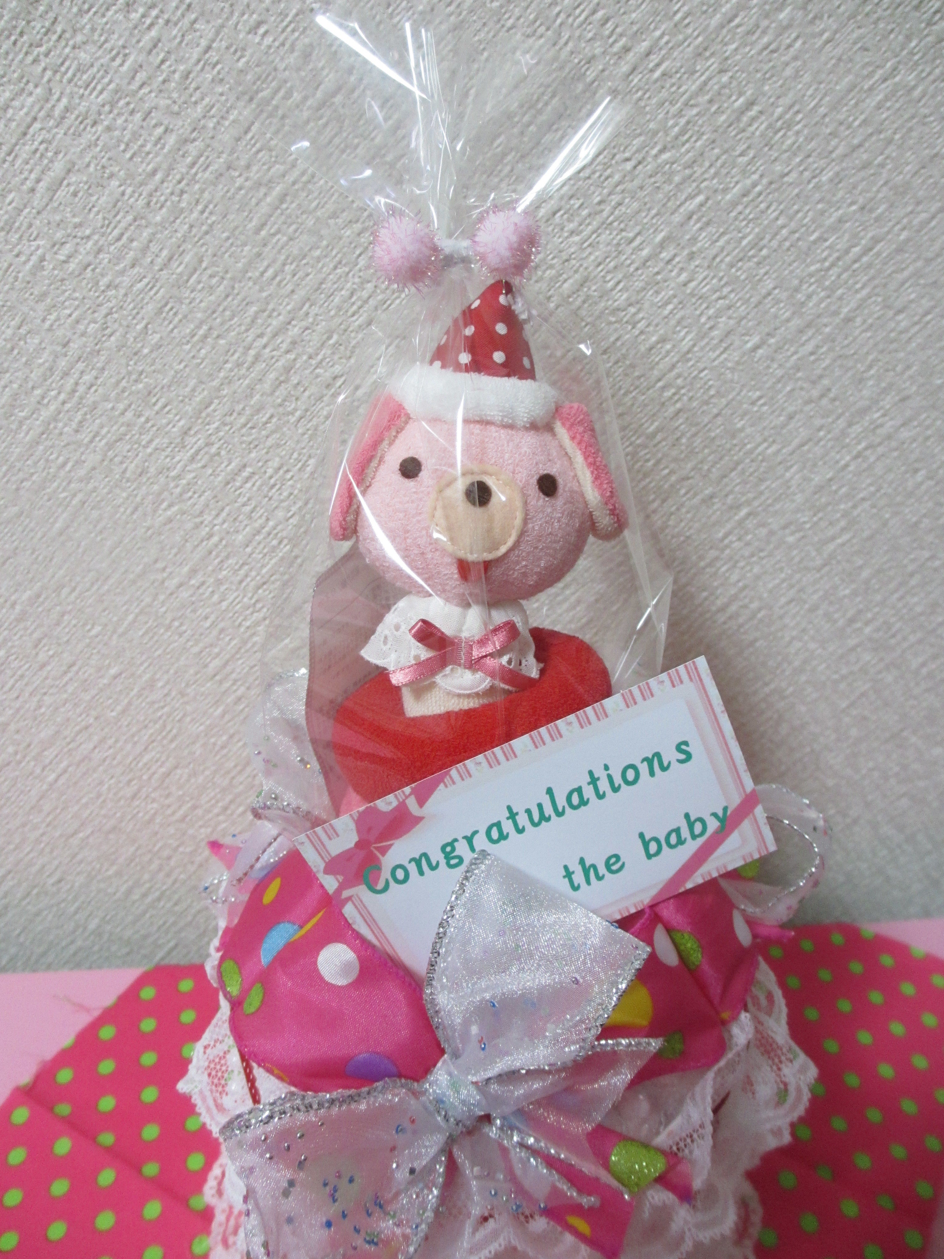 Ribbon&Ribbon~おむつケーキ~