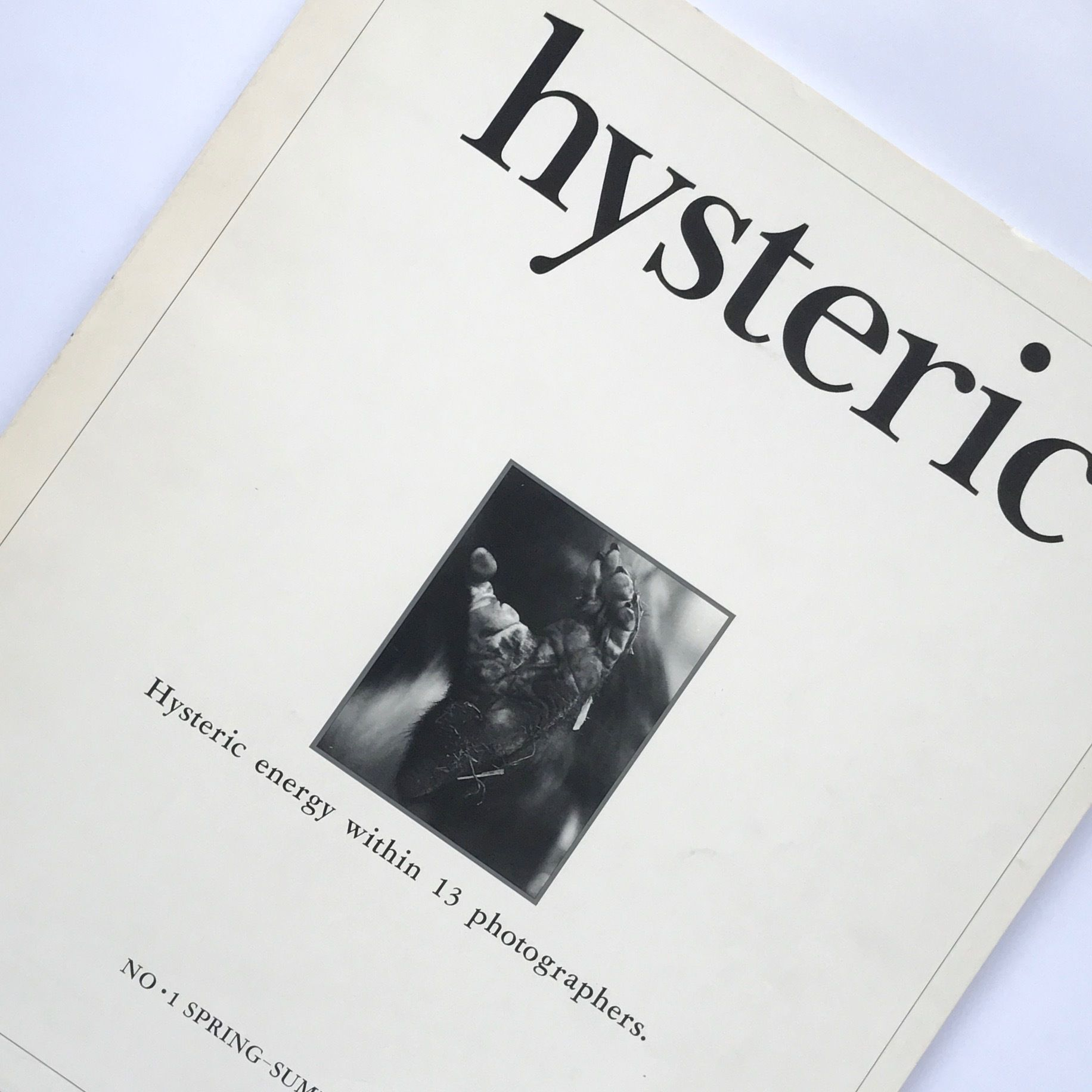 Title/ hysteric No.1 Author/ 綿谷修 、奈良原一高他