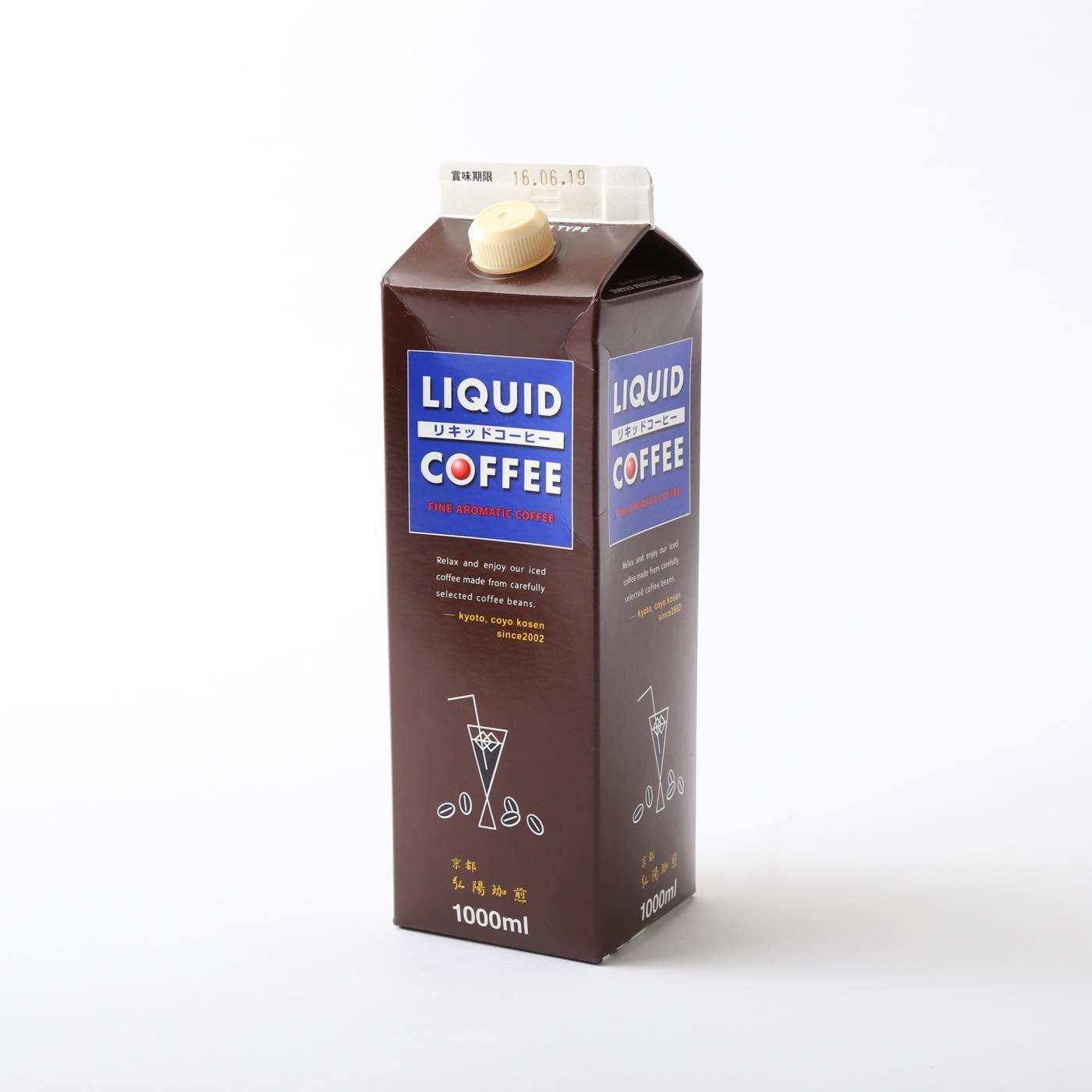 弘陽珈煎オリジナル・アイスリキッドコーヒ6本入