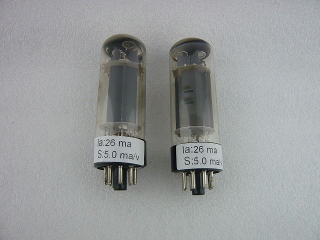ロゴなし 真空管 EL34M 2本組 ( NO LOGO ELECTRON TUBE EL34M PAIR )