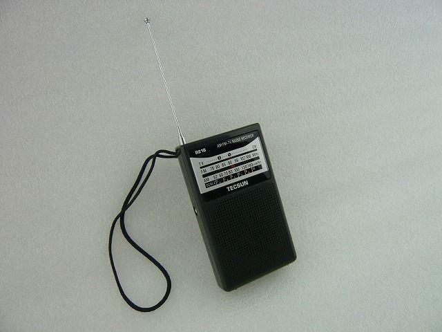 ワイドFM受信可能  TECSUN  RADIO  R-218 (BLACK)     ZHW-R-218-B-TECSUN