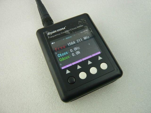 ポータブル周波数カウンター SF-401plus ( Hand-Held  Frequency Counter SF-401plus )