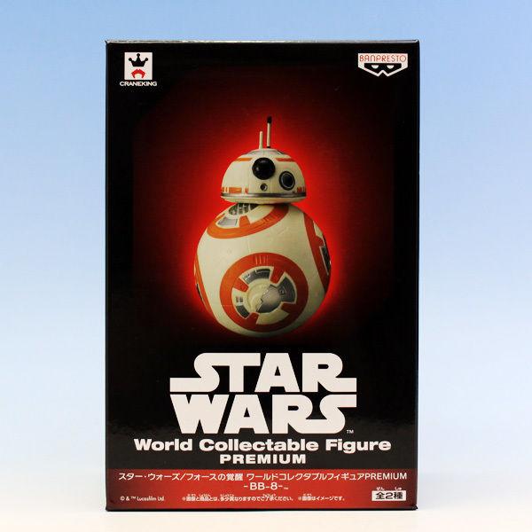 BB-8  (スター・ウォーズ/フォースの覚醒 ワールドコレクタブルフィギュアPREMIUM BB-8 グッズ プライズ バンプレスト)