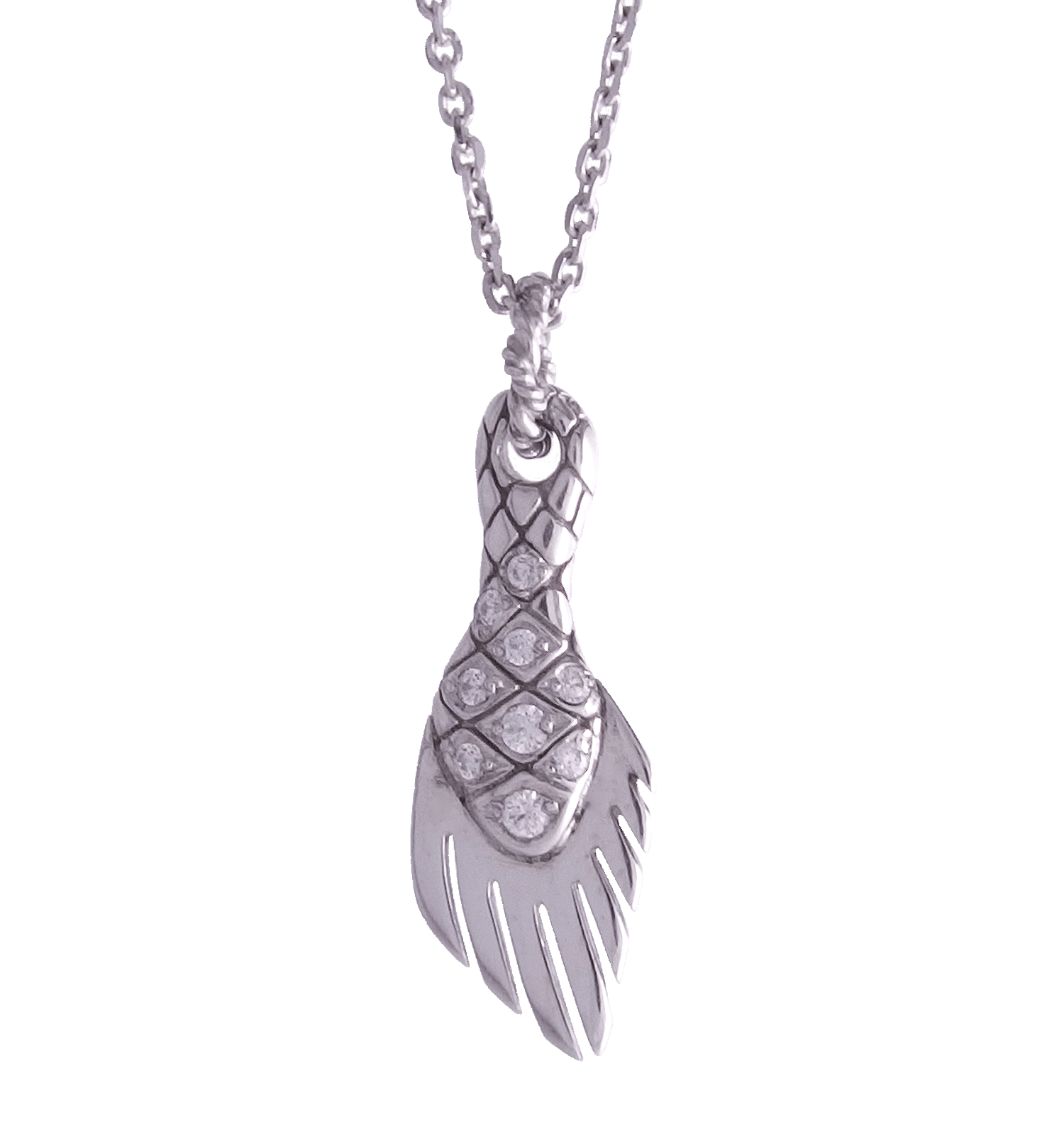 Ancientfish's Scale Necklace / エンシェントフィッシュズ・スケール・ネックレス
