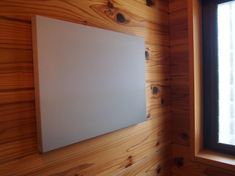 アートシリーズ CROSSORC ファブリックアート「WHITE」(Sサイズ)