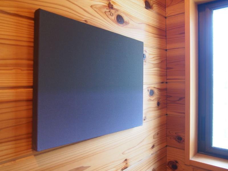 アートシリーズ CROSSORC ファブリックアート「BLACK」(Sサイズ)