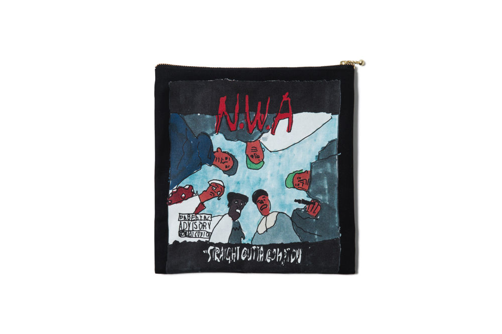 COMPTON POUCH : YUNG LENOX with BESIDE THE BAG【CC17AW-013】