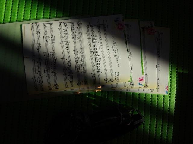 EROCS ゴッドファーザ愛のテーマ 楽譜のあるカラー風景
