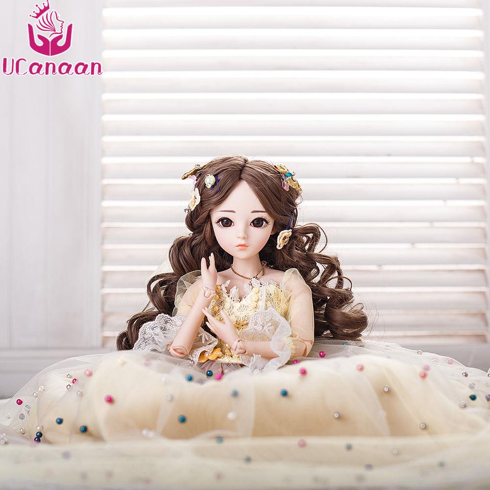 球体関節人形 BJD 衣装付き お姫様 お嬢様 女の子プリンセスドール 60cm 美しいフランス人形/西洋人形/SD ミステリアス ブルネット ウェーブヘアの美少女 新品