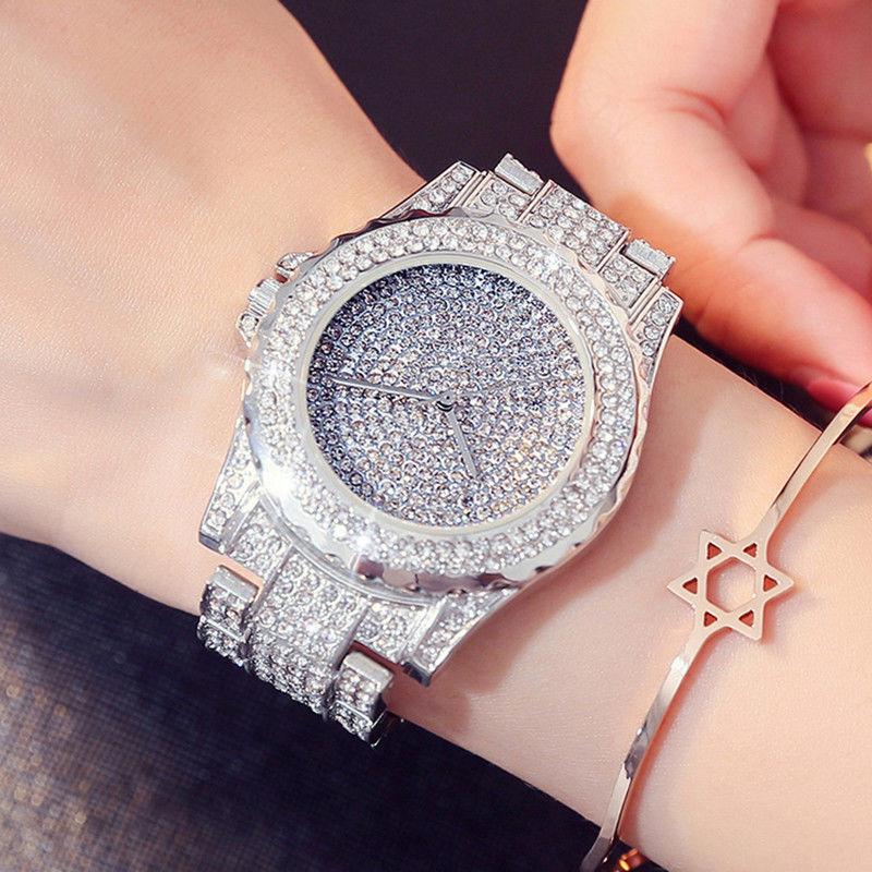 レディースウォッチ 海外人気ブランド GEDI キラキラ腕時計 クリスタル ラインストーン パヴェ ジュエリーウォッチ リストウォッチ ブレスウォッチ おしゃれ 大人気 ブレスレットつき