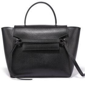 セリーヌ風 ベルトバッグ 2way ショルダーバッグ ハンドバッグ 本革スプリットレザー celine風 belt bag