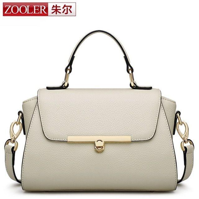 ZOOLER 本革 2wayバッグ ショルダーバッグ ハンドバッグ Genuine Leather Shoulder bags シンプル 上品
