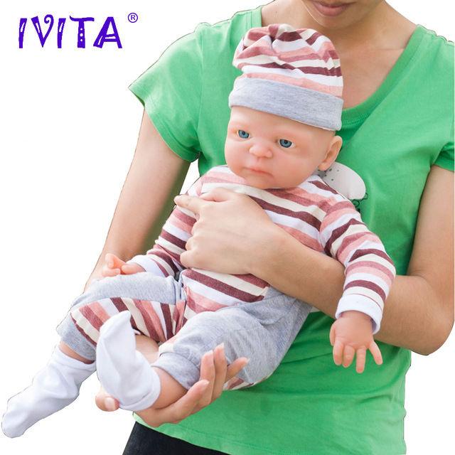 リボーンドール 柔らかい高級フルシリコン オープンアイ お風呂可能♪ 海外ドール リアル赤ちゃん人形 ベビードール  ぱっちりお目目の乳児ちゃん 54cm4900g ぱっちりお目目の女の子