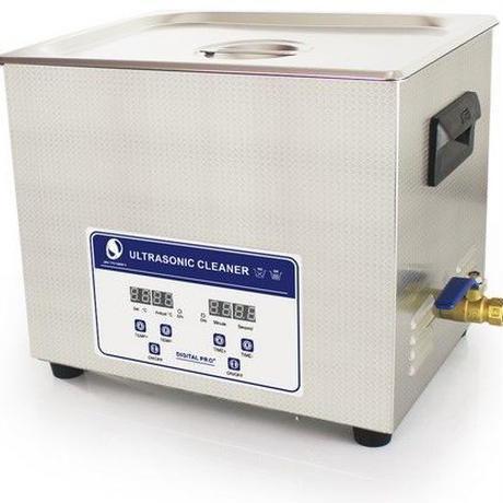 SKYMEN 超音波洗浄機 メガネ アクセサリー 貴金属 ジュエリー 宝石用 業務用 超音波クリーナー 10L (容量9.5L)デジタル制御 ヒーターつき