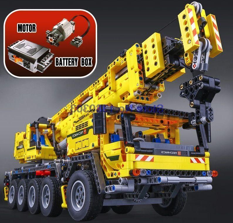 LEGO風 LEPIN レゴ互換 テクニック モービル・クレーンMK II 42009相当 ブロックおもちゃ