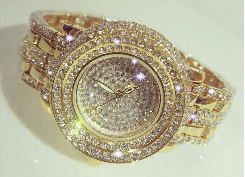 レディースウォッチ 人気ブランド BEE SISTER キラキラ腕時計 クリスタル ラインストーン パヴェ ジュエリーウォッチ リストウォッチ ブレスウォッチ おしゃれ 海外 大人気