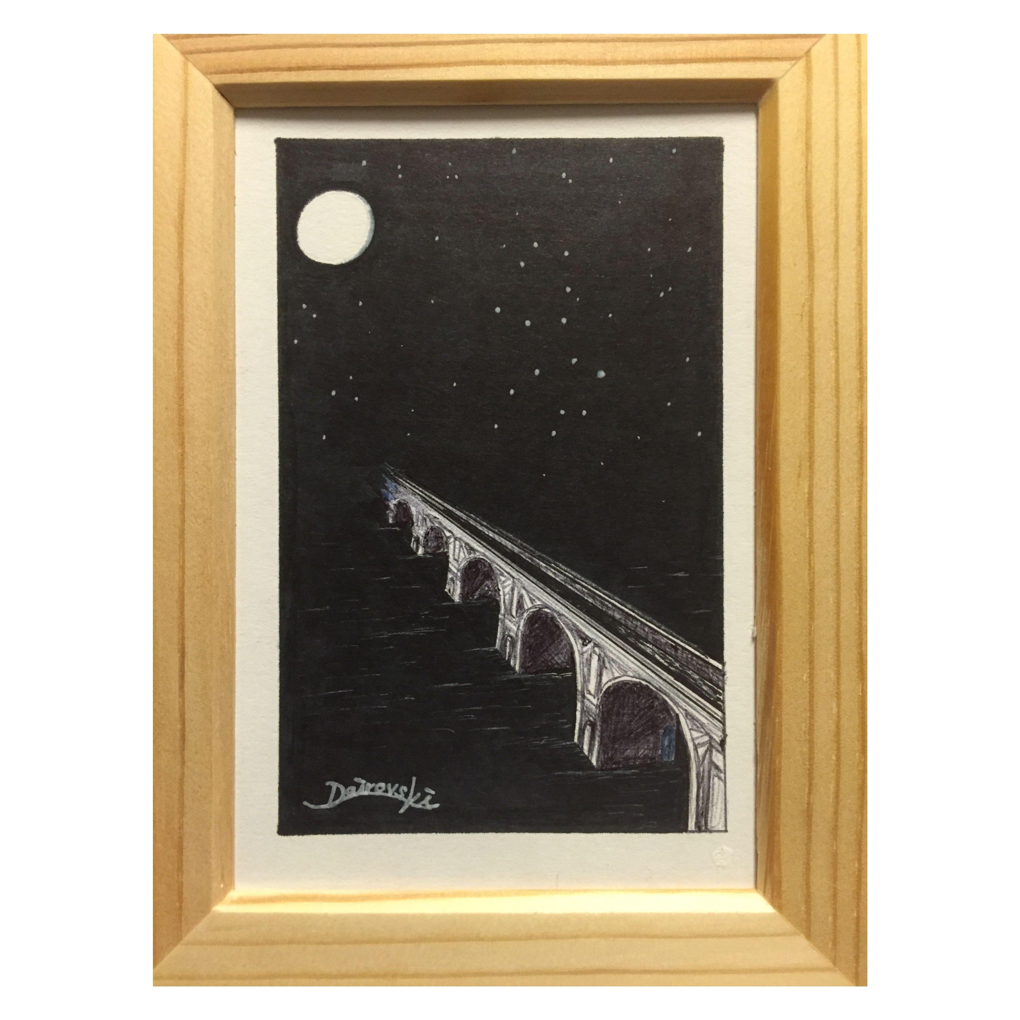 bridge and night【原画】