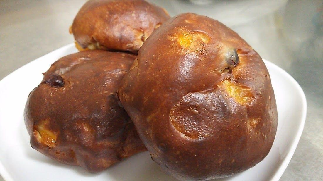 マンゴー&クランベリー丸だいずパン (1個)