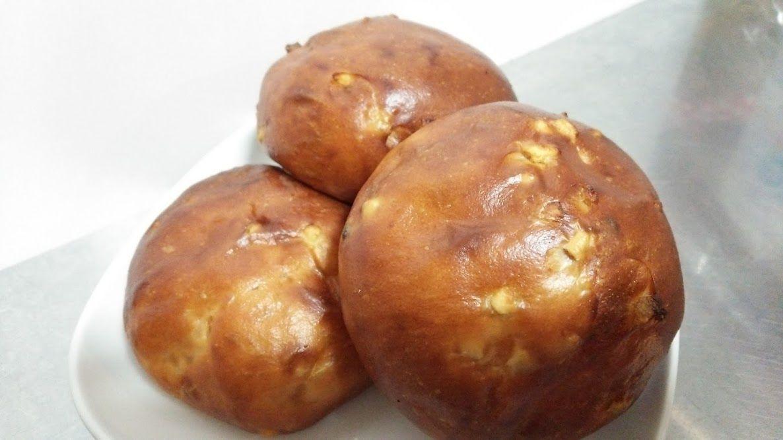 オレンジピール&レーズン丸だいずパン (3個入り)