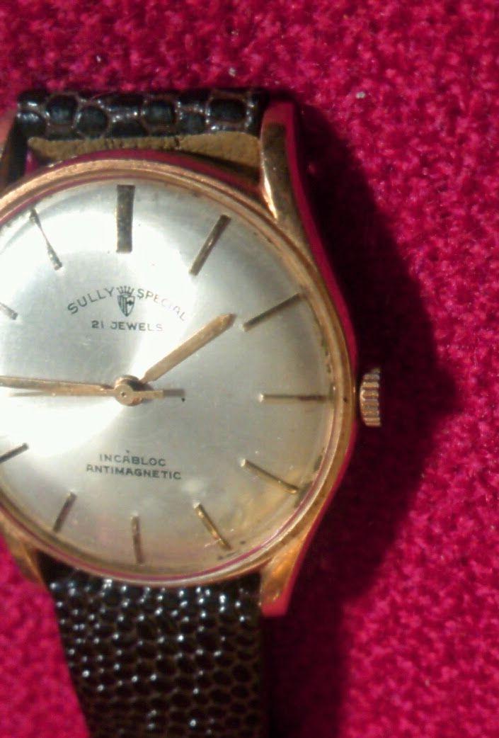 SULLY SPECIAL18金機械式手巻腕時計